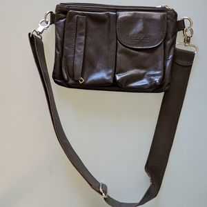 Rudsak brown leather crossbody bag